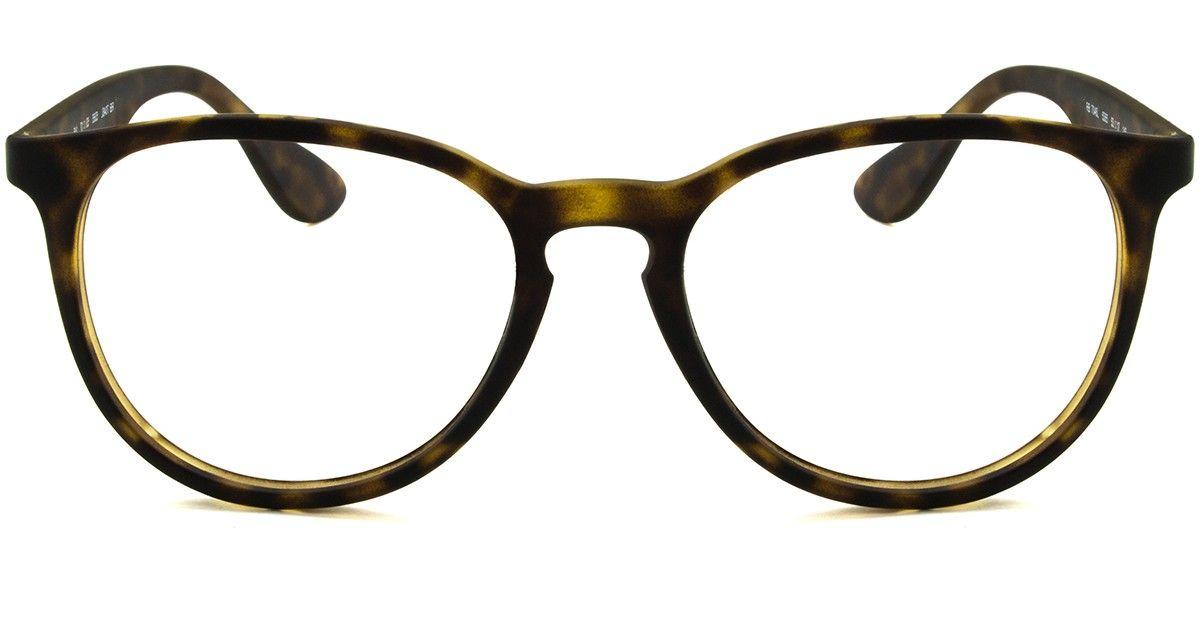 b3c334839cc64 Ray-Ban Erika RB7046L - Tartaruga - 5365 53   Acessórios   Óculos ...