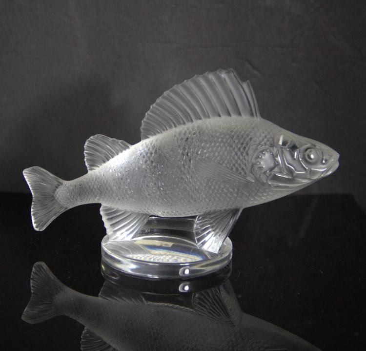 Lalique Crystal Trout Lalique Crystal Lalique Crystals