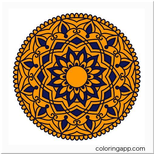 Mandalacoloring Mandalacoloringbook Coloringapp Coloringappcom Coloringappforadults Coloringf Mandala Malvorlagen Mandala Ausmalen Afrikanisches Handwerk