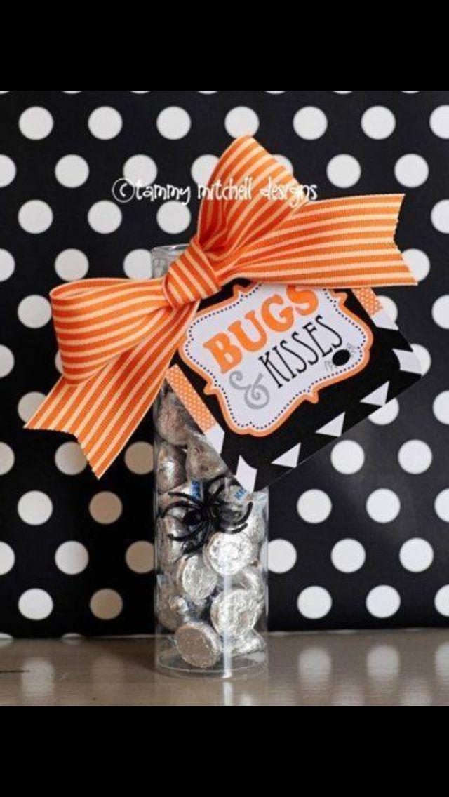 Bugs and Kisses- Halloween treats Halloween Party Pinterest - halloween treat ideas for school parties