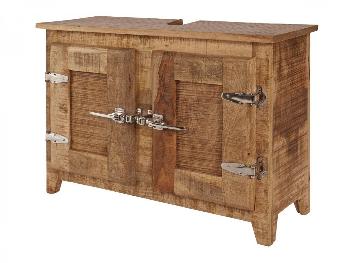 Waschbeckenunterschrank Badmobel Holz Mango Mobel Badschrank