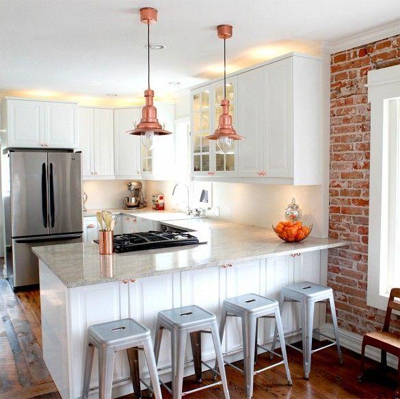 tijolo5 home Pinterest Casas rústicas, Cocinas y Rústico - modelos de cocinas