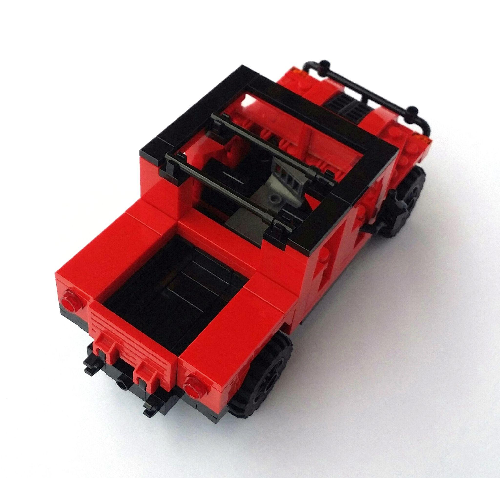 Hummer car toys  Hummer H Door Soft Top Pickup  Hummer h and Lego