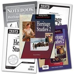 BJU Press Homeschool | Heritage Studies 2 Subject Kit