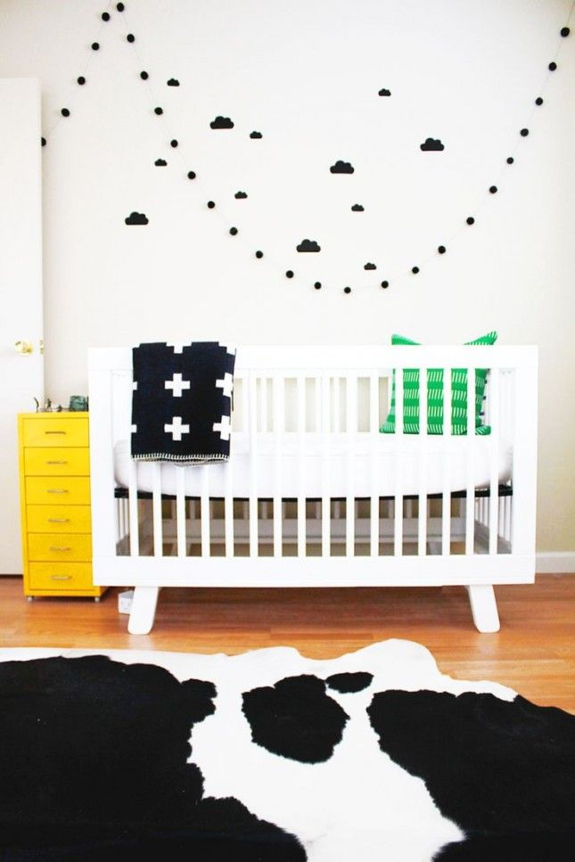 A Cow Print Rug In Nursery Is The Exact Detail We Never Knew Were