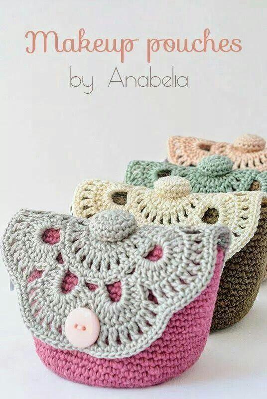 Hæklet pung | crochet | Pinterest | Octubre