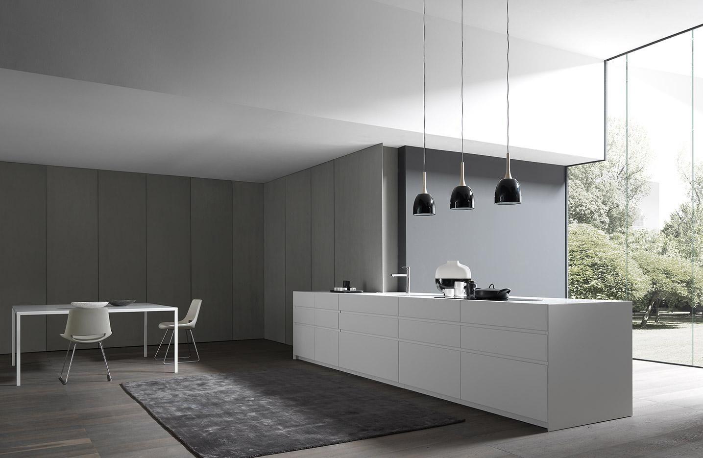 Fly design kitchen program. All the edges match, PERFECTLY.   www.modulnova.it #designkitchen #designliving #interiordesign