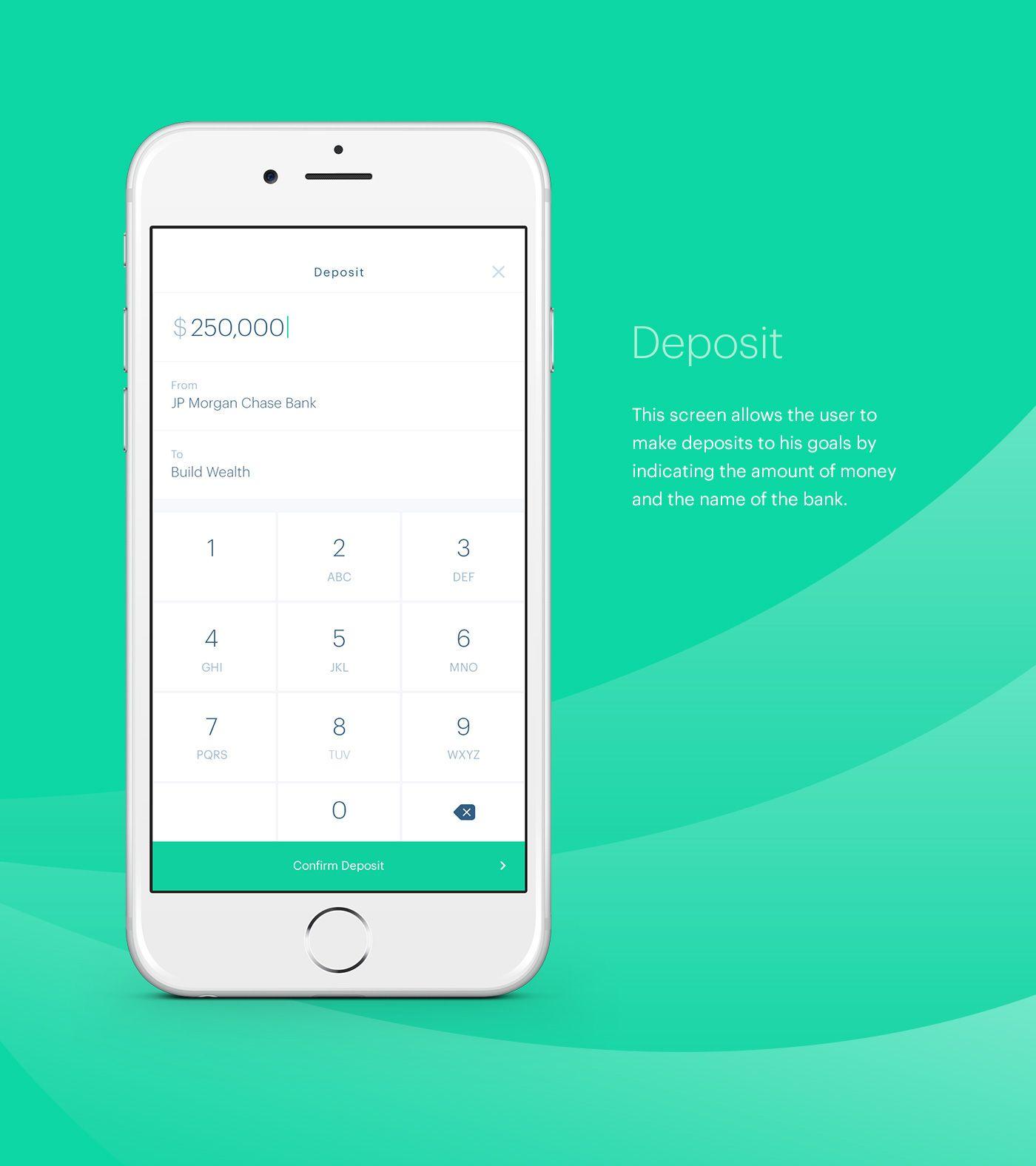 Wealthkeepr Finance Mobile App On Behance