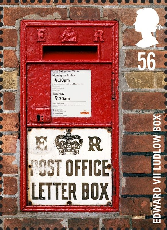 Royal MailS Special Stamps Old Postbox Royal Mail Letters