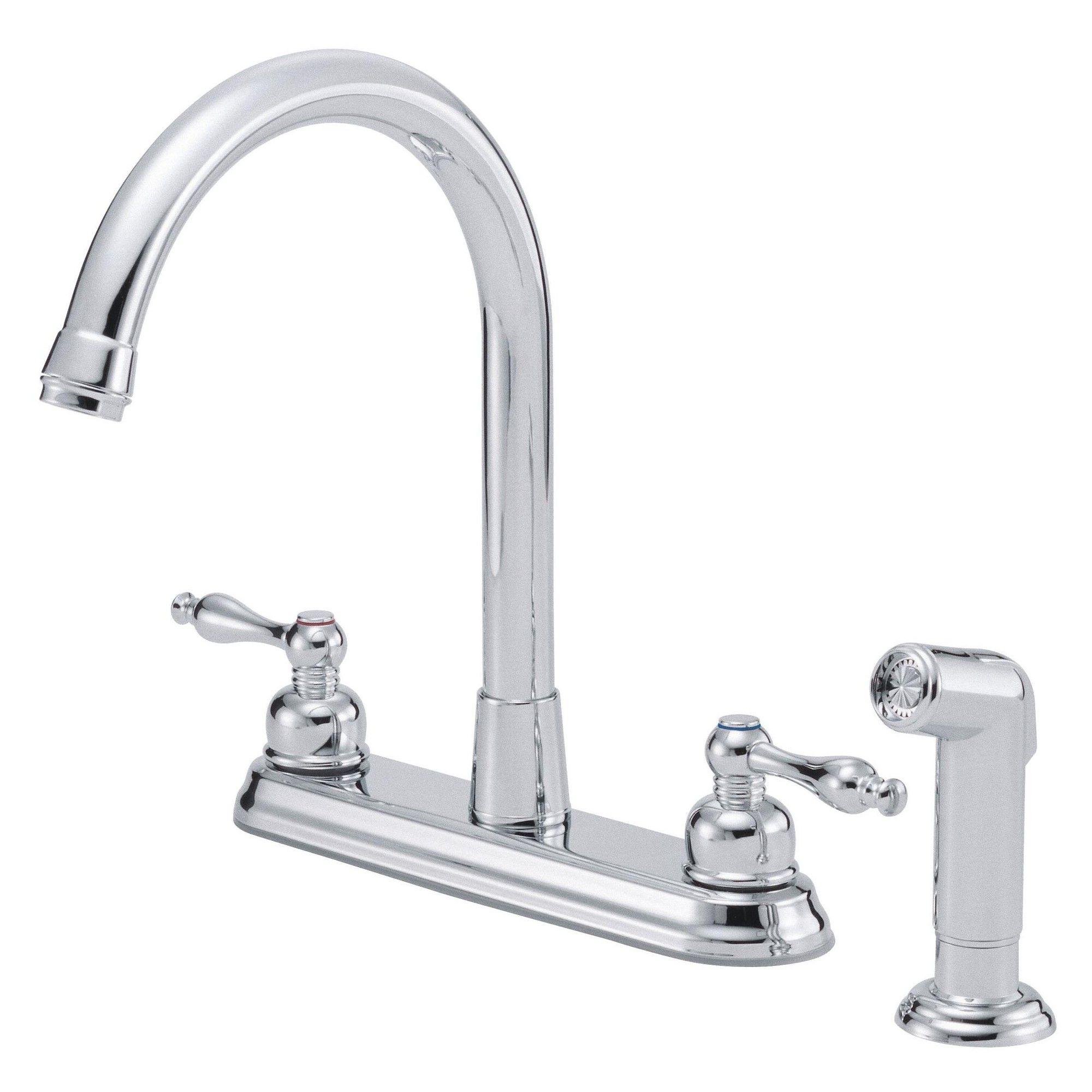 Danze D422255 Kitchen Faucet Chrome Grey Faucet Kitchen