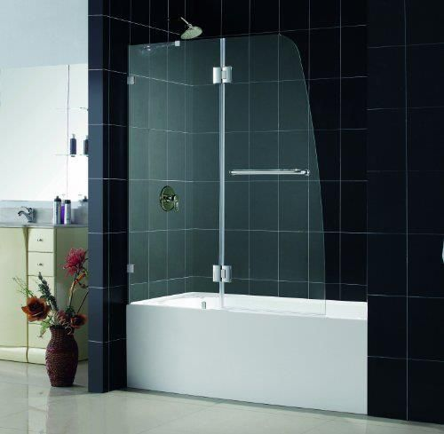 European 3 4 Tub Shower Door With Images Tub Shower Doors