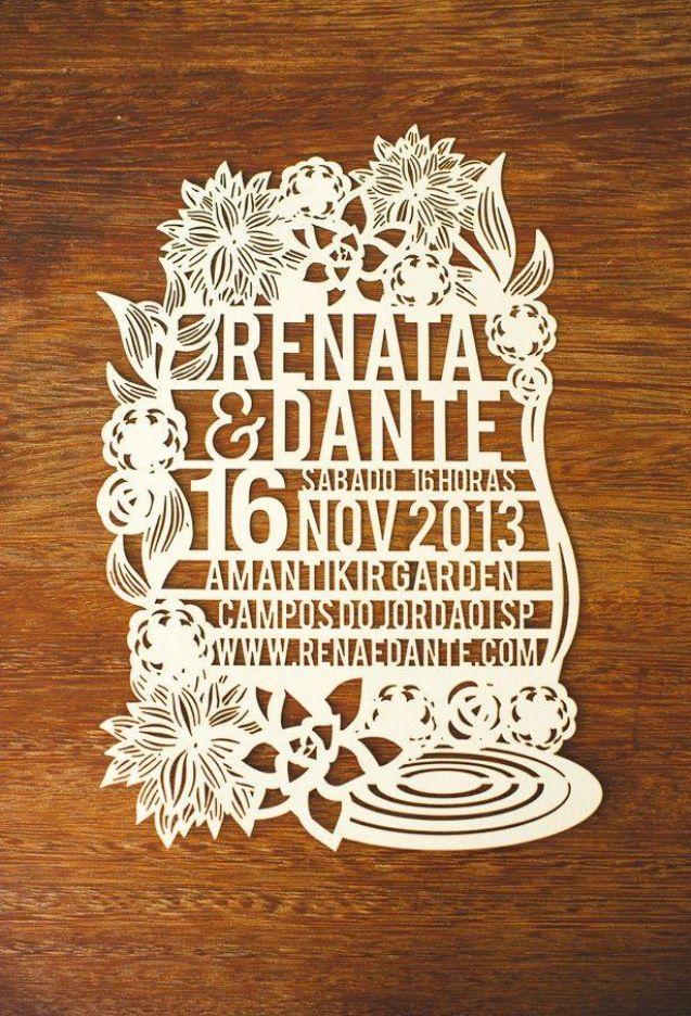 Invitacion Papel Picado. Creative Wedding InvitationsLaser ...