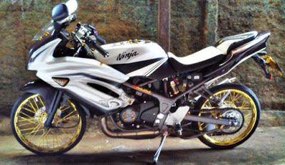 Modifikasi Motor Ninja Rr 2 Tak Ninja Motor Interior Mobil