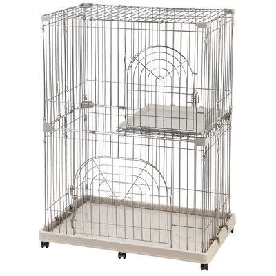 Found it at Wayfair - Wire Cat Cage