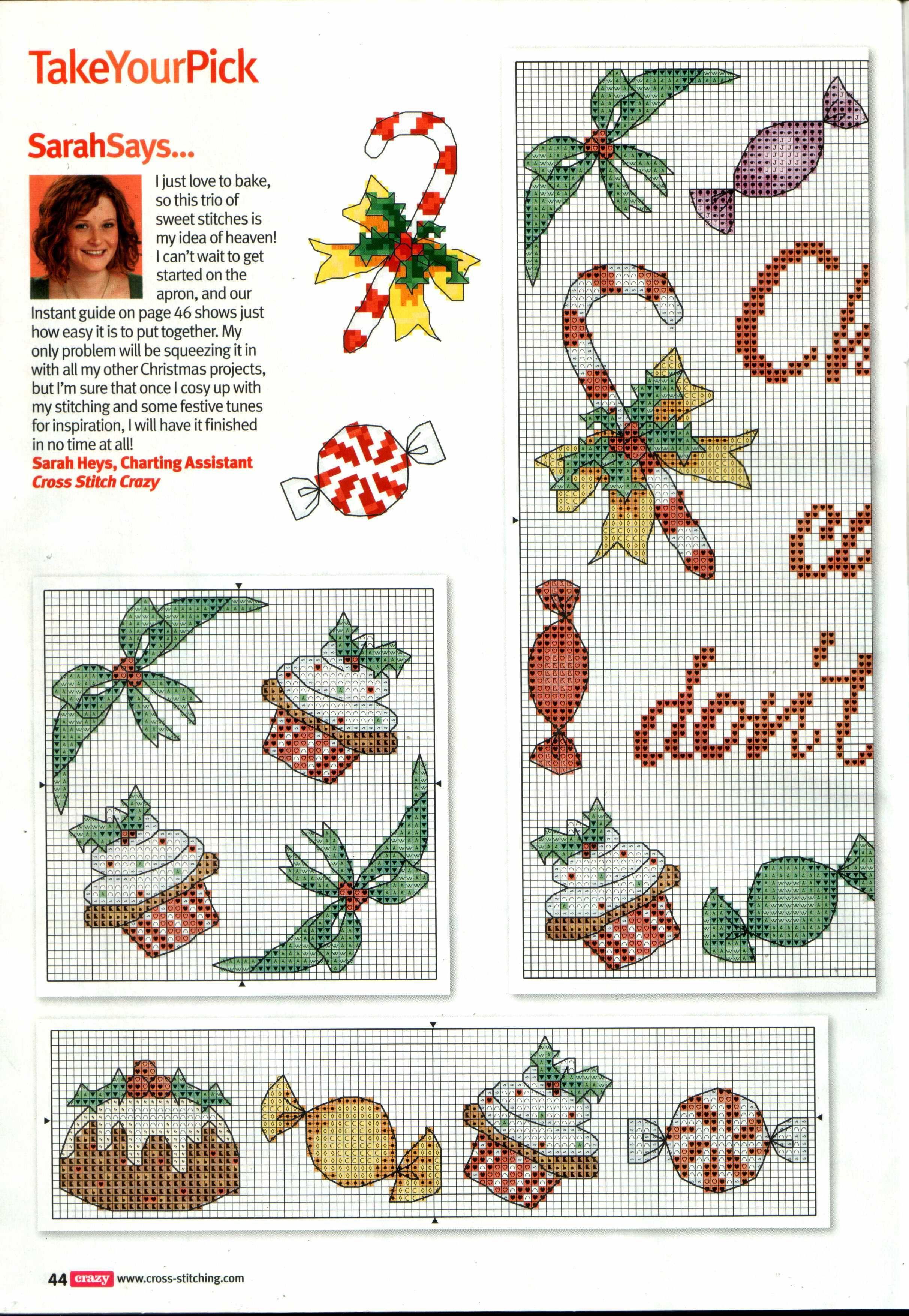 imgbox - fast, simple image host | Punto de Cruz Navidad | Pinterest ...