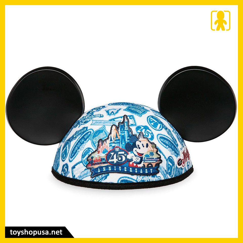 01c61303d94 Disney Magic Kingdom 45th Anniversary Mickey Mouse Ears Cap Hat Authentic  Disney please retweet