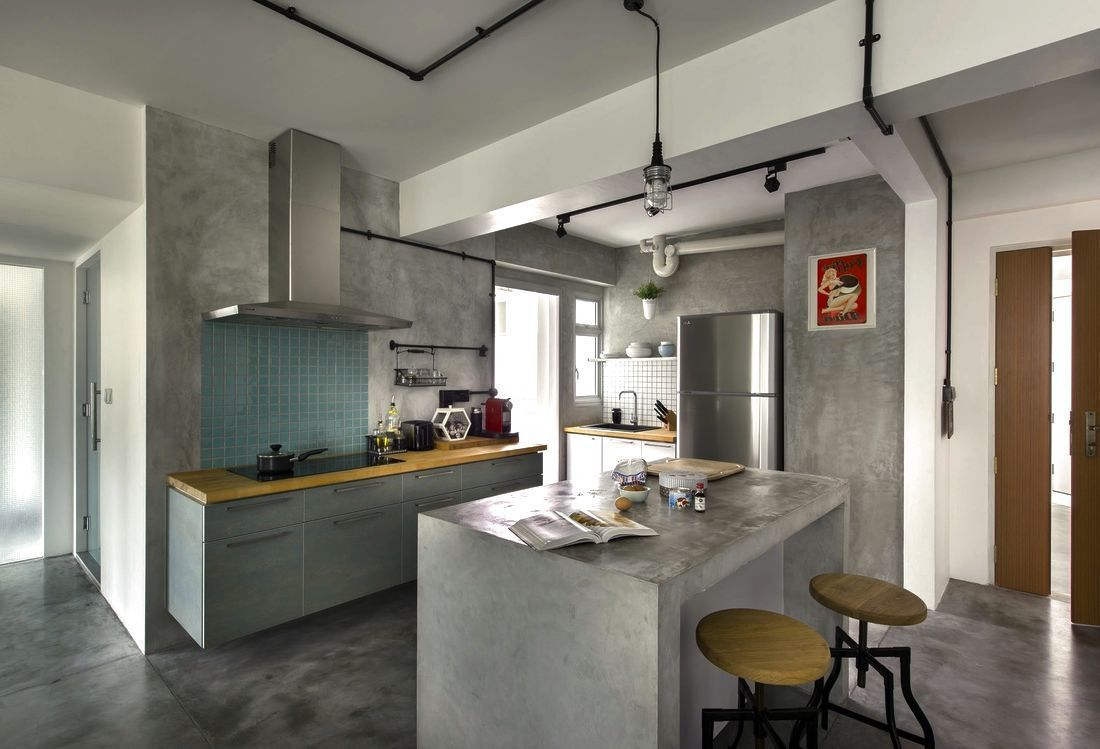 Kitchen Design Singapore Hdb Flat Cherry Kitchen Cabinets Design Ideas  Seasons Home