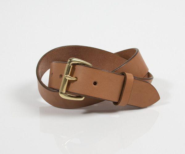 Tanner Goods. I need a belt so bad.