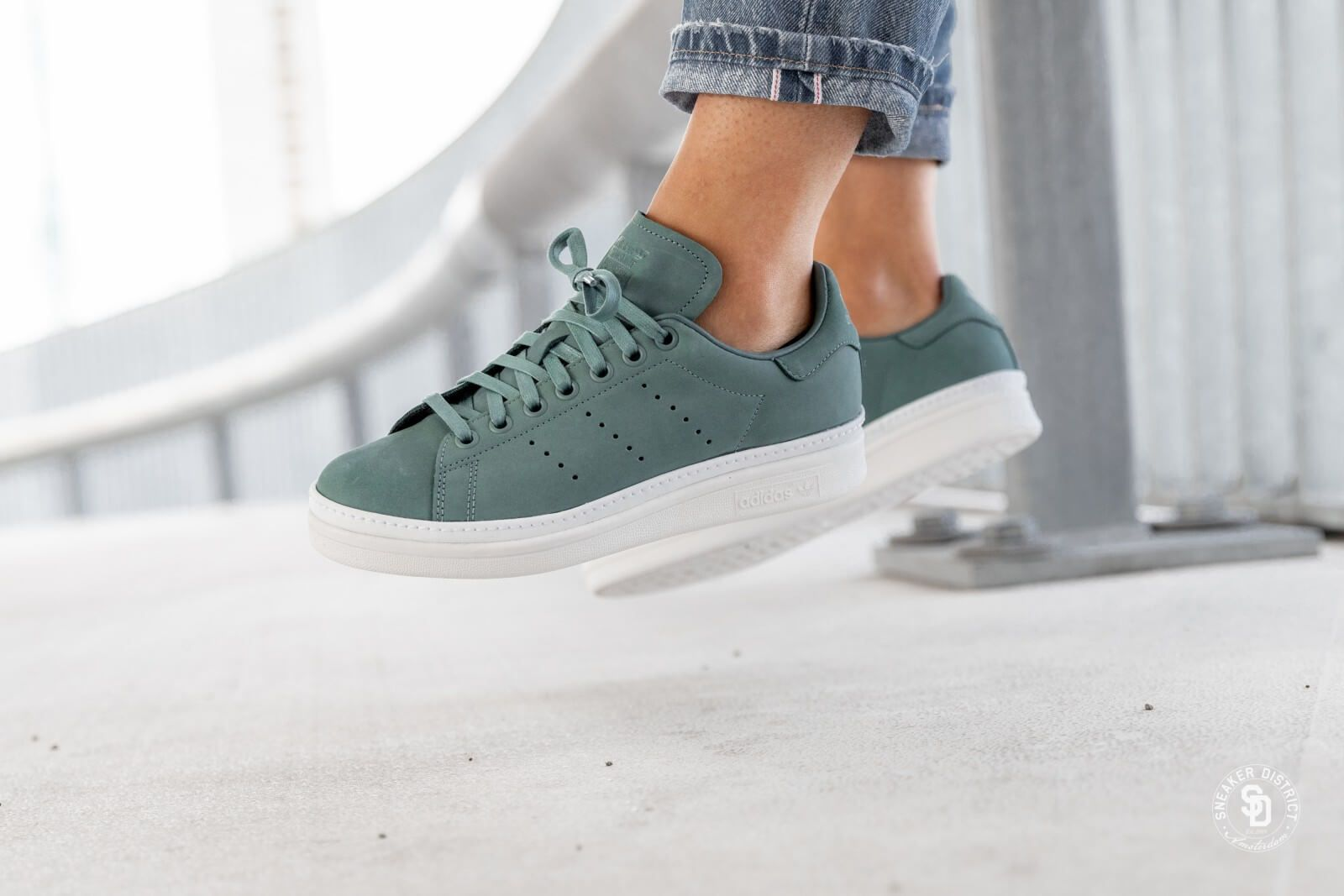 adidas stan smith dames green
