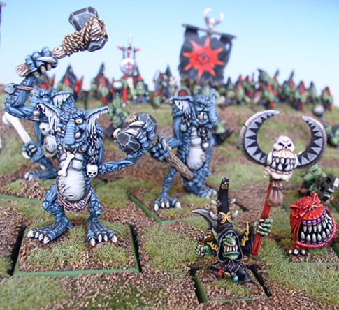 The Kev Adams Challenge Night Goblin Army Goblin Warhammer Fantasy Ogre