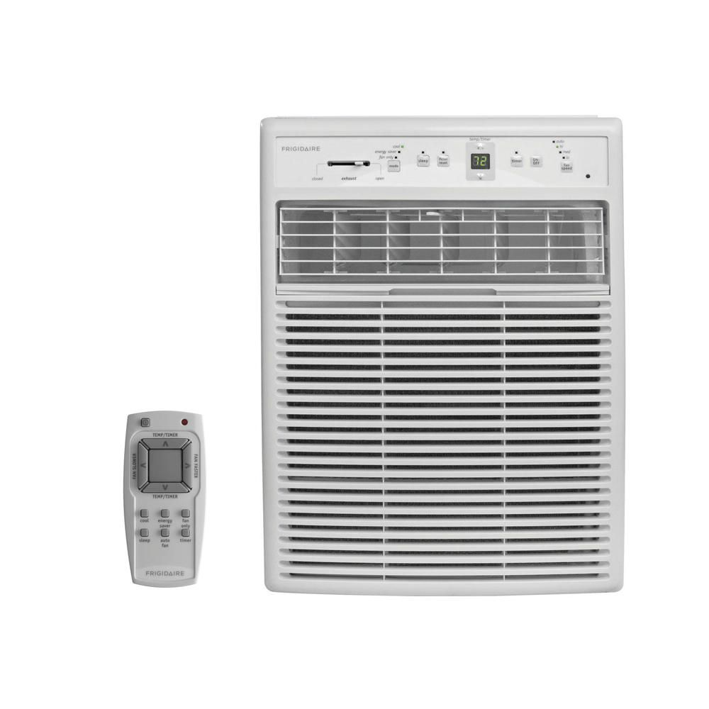 Frigidaire 10 000 Btu 115 Volt Room Window Air Conditioner With Full Function Remote Control Ffrs1022r1 Window Air Conditioner Compact Air Conditioner Casement Windows