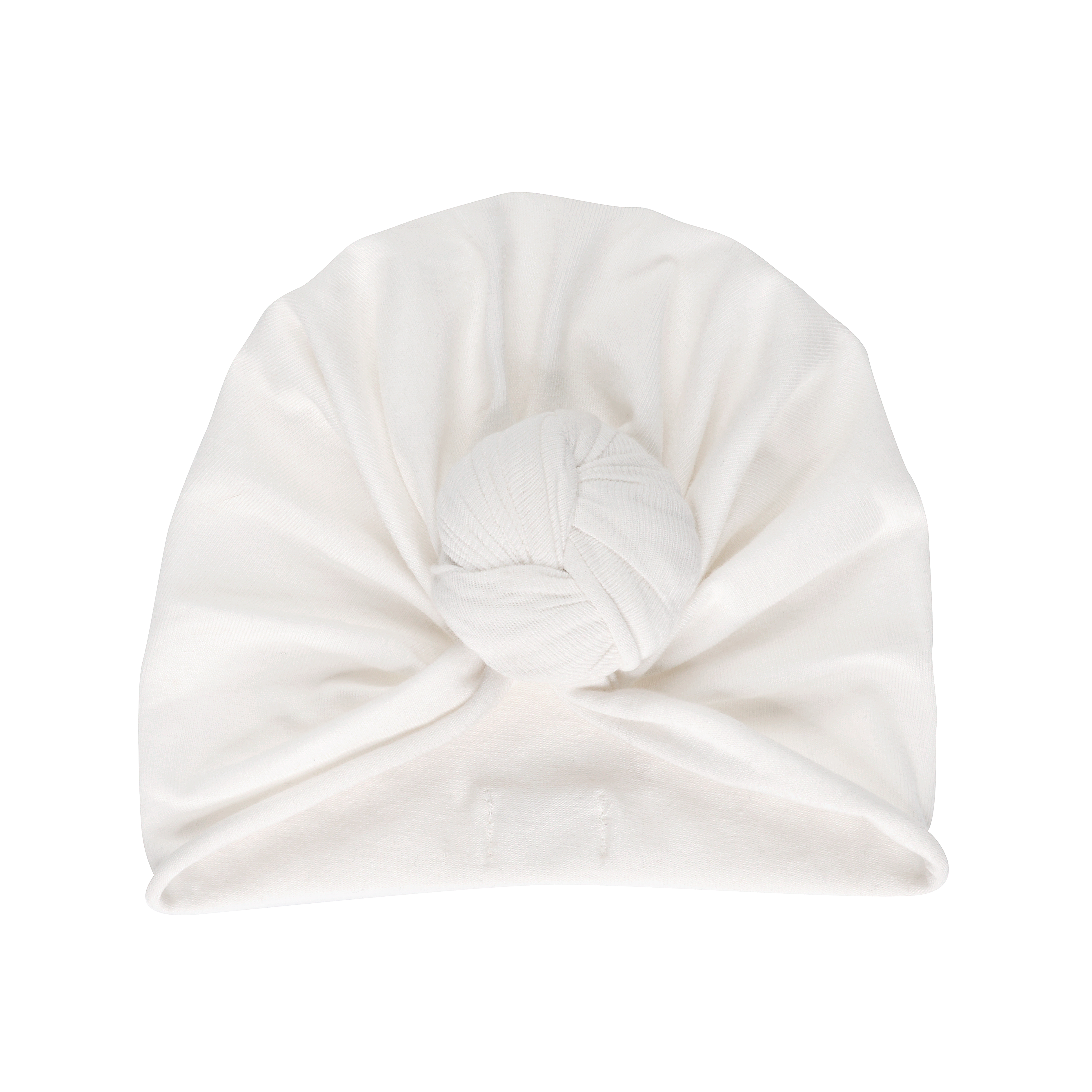 Knotted Turban - Whipped Cream / 12-24 Months