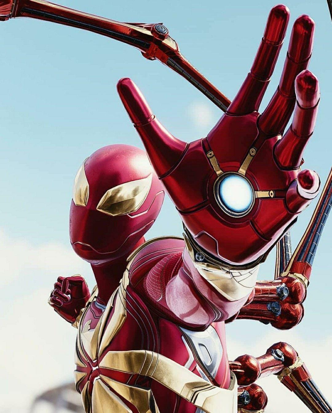 Iron Spider original / Spiderman PS4 | spiderman new | Desain
