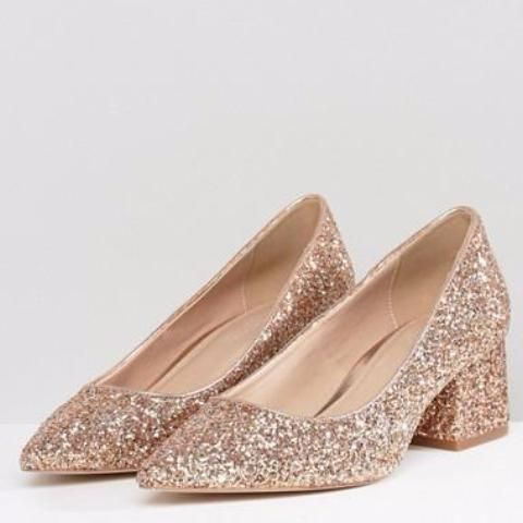 Zapatos de tacón medio en bloque SIMPLY de ASOS Asos N7s41V9dS
