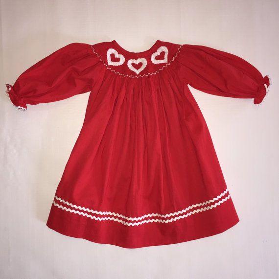 4f46c0507 Shamrock Smocked Girls Bishop Dress! | St Patrick's | Dresses, Smock dress,  Summer dresses