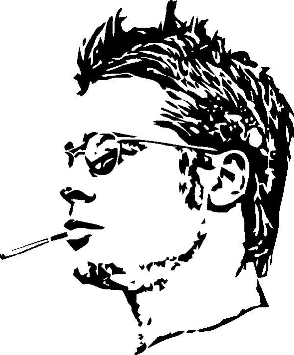 Actor Brad Pitt File Cdr And Dxf Free Vector Download For Laser Engraving Machines Download Free Vec Vector Free Vector Free Download Laser Engraving Machine
