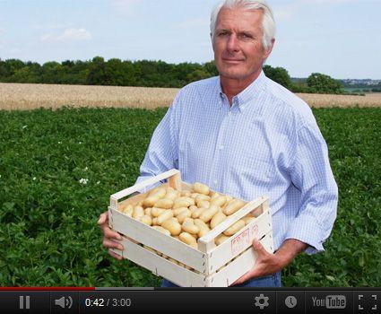 Découvrez le portrait vidéo d'Audouin, producteur de la pomme de terre Pompadour Label Rouge