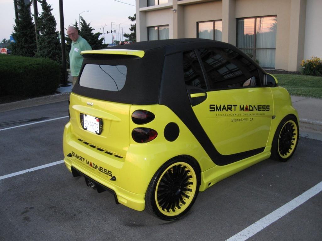 Smart Car Rear Spoiler
