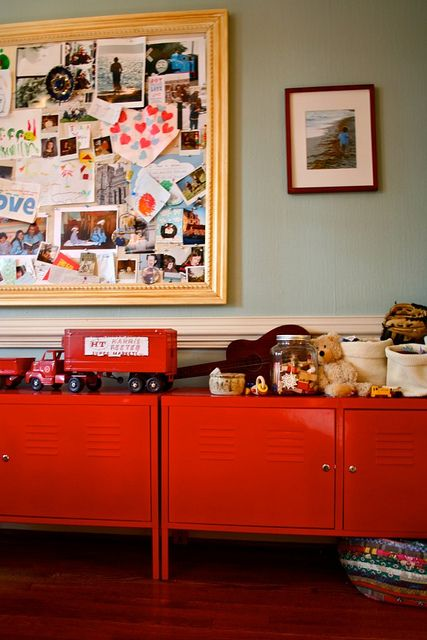 a real life, real time, not tidy-ed shot of teddy\'s cupboards ...