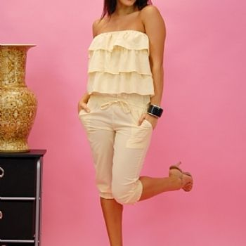 Ruffle Top Jumper at the Shopping Mall, $29.69 (USD)