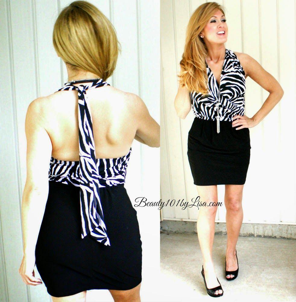Animal Print Dress #beauty101bylisa