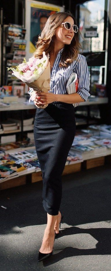 48 Modest Women Business Outfits for 2019 #womensworkoutfits