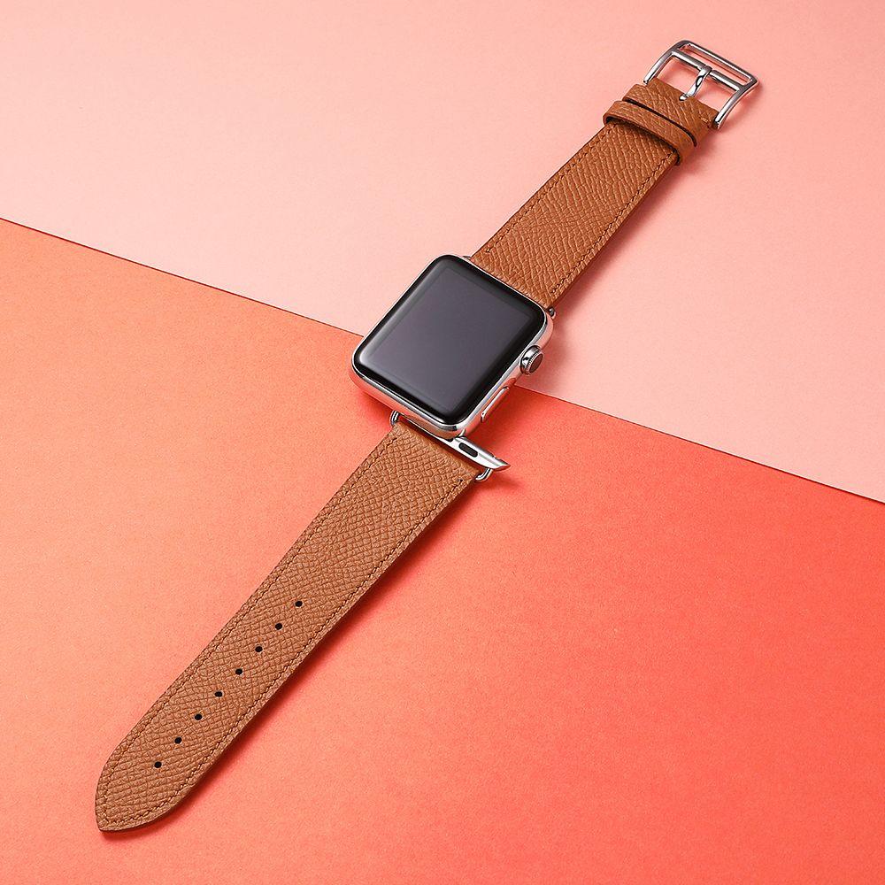 Oem Genuine Calf Skin Leather Watch Band Strap Belt 42mm For Apple Watch Band Apple Leather Watch Band 38mm Apple Watch Band Apple Watch Bands