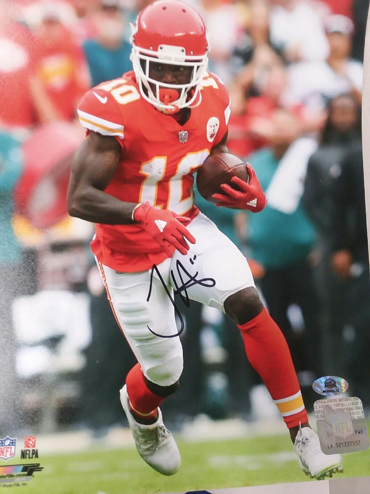 f594ef57c What a rookie season for Tyreek Hill in 2016. He was electric for the Kansas
