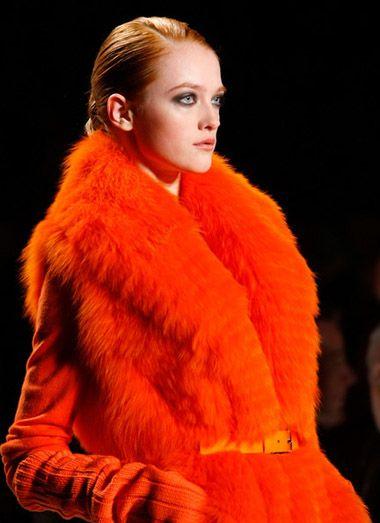 Michael Kors neon mink Orange Dress #2dayslook #sasssjane #OrangeDress www.2dayslook.com