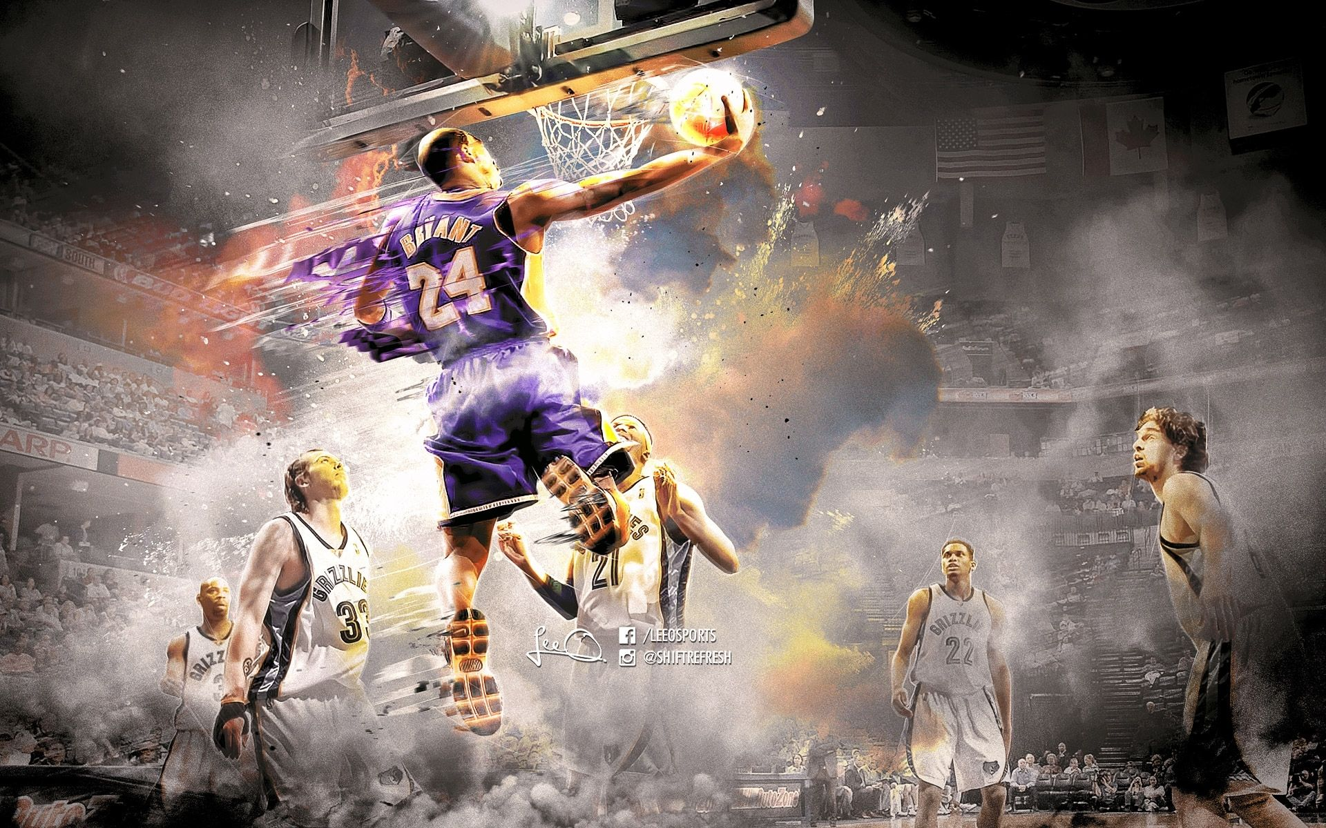 Best Basketball Wallpapers Kobe Bryant