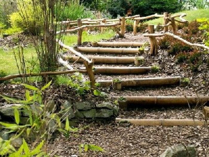 Faire un escalier de jardin  mode du0027emploi Gardens, Fences and - realiser un escalier exterieur