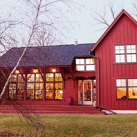 Farmhouse Mixed Siding Vertical Lap Farmhouse Exterior House Exterior Board And Batten Exterior