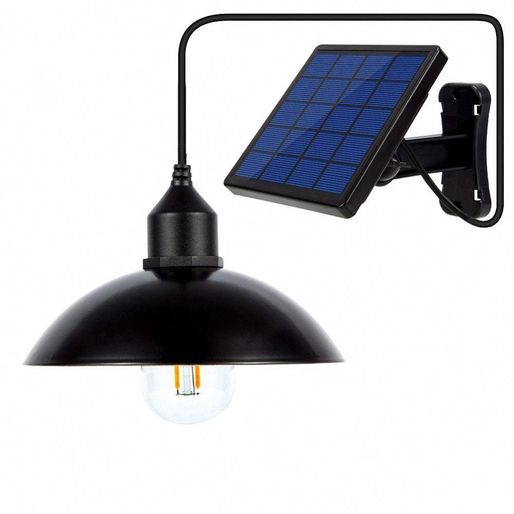 Qusam Led Solar Powered Intelligent Pendant Light Solar Light Bulb Hanging Solar Lights Solar Powered Lamp