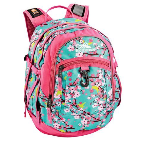 a9420d6d83 High Sierra Fatboy Girl Birds   Blossoms Backpack  Shopko