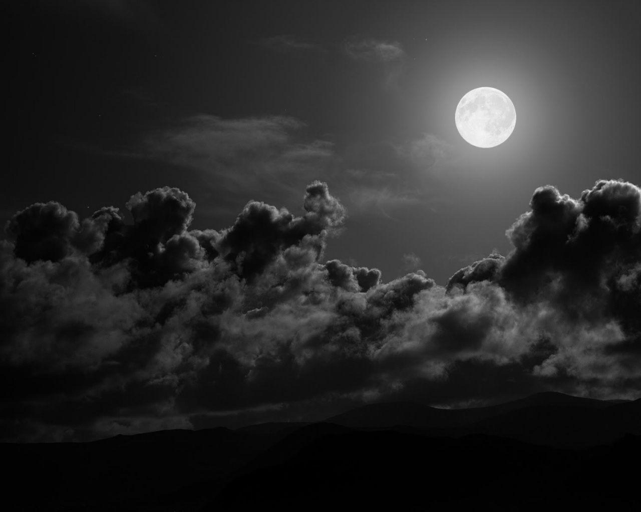 Dark Night Moon Wallpaper Hd Wallpapers Full Moon Full Moon Night Moon Pictures