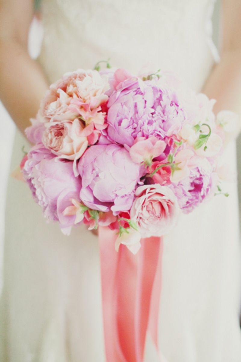 Vintage DIY Pink and Aqua Wedding | Pinterest | Peach bouquet, Peach ...