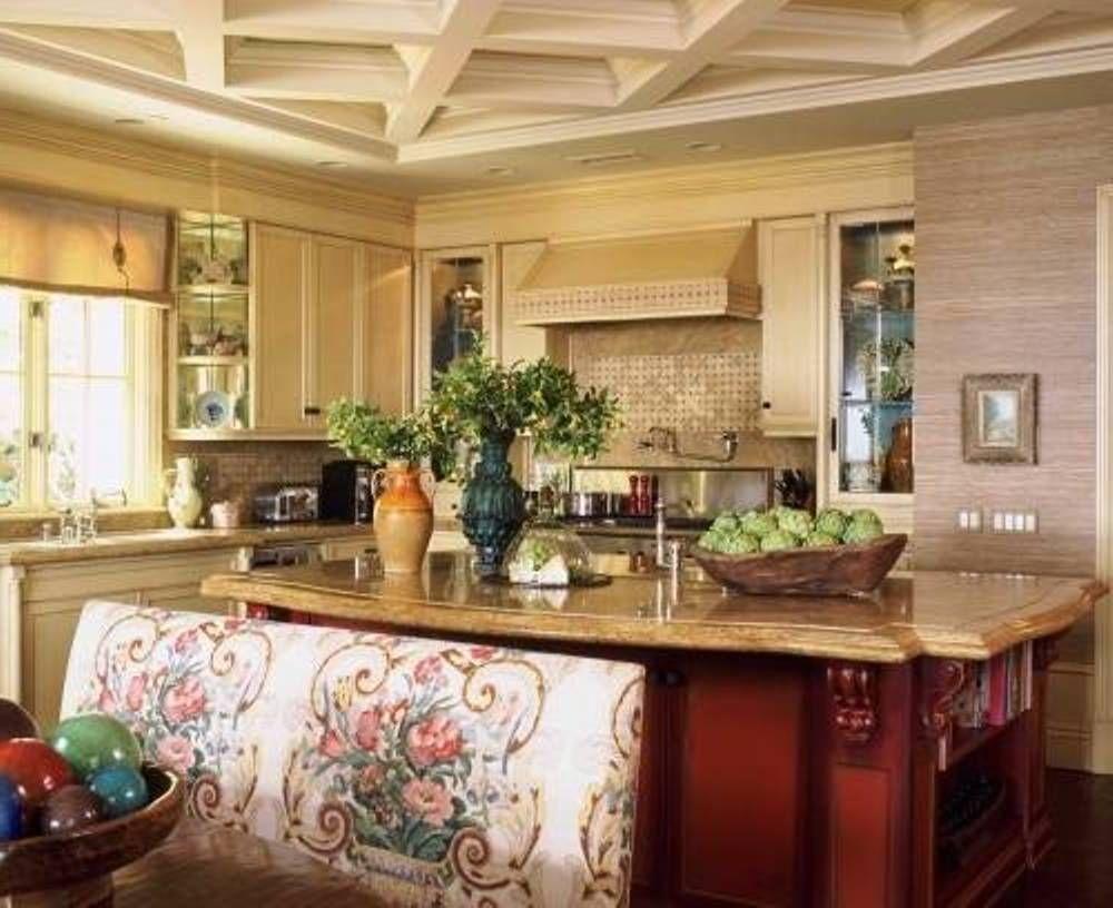 Traditional Italy Themed Kitchen Decor Design Italian Kitchen