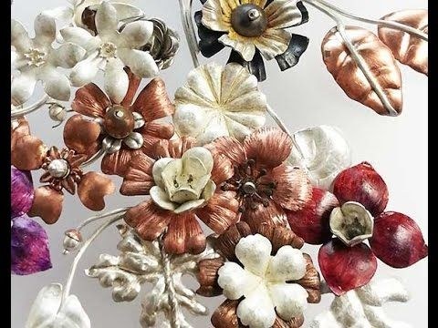 How to Make Metal Flowers:  Part Two Learn how to create 3D flowers for your jewelry making projects.