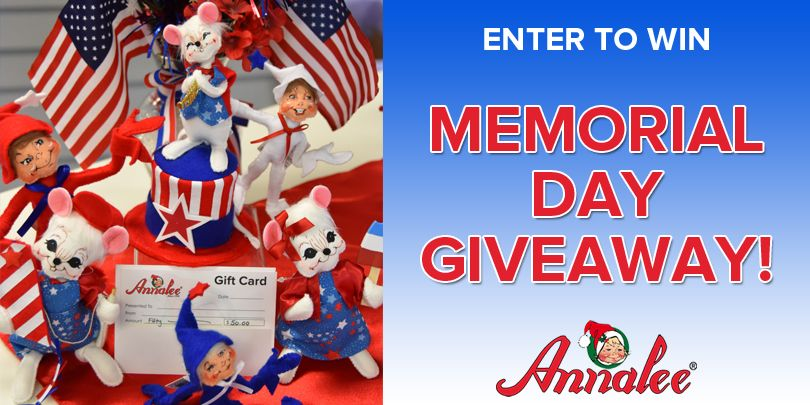 Enter to win annalees memorial day giveaway gift card