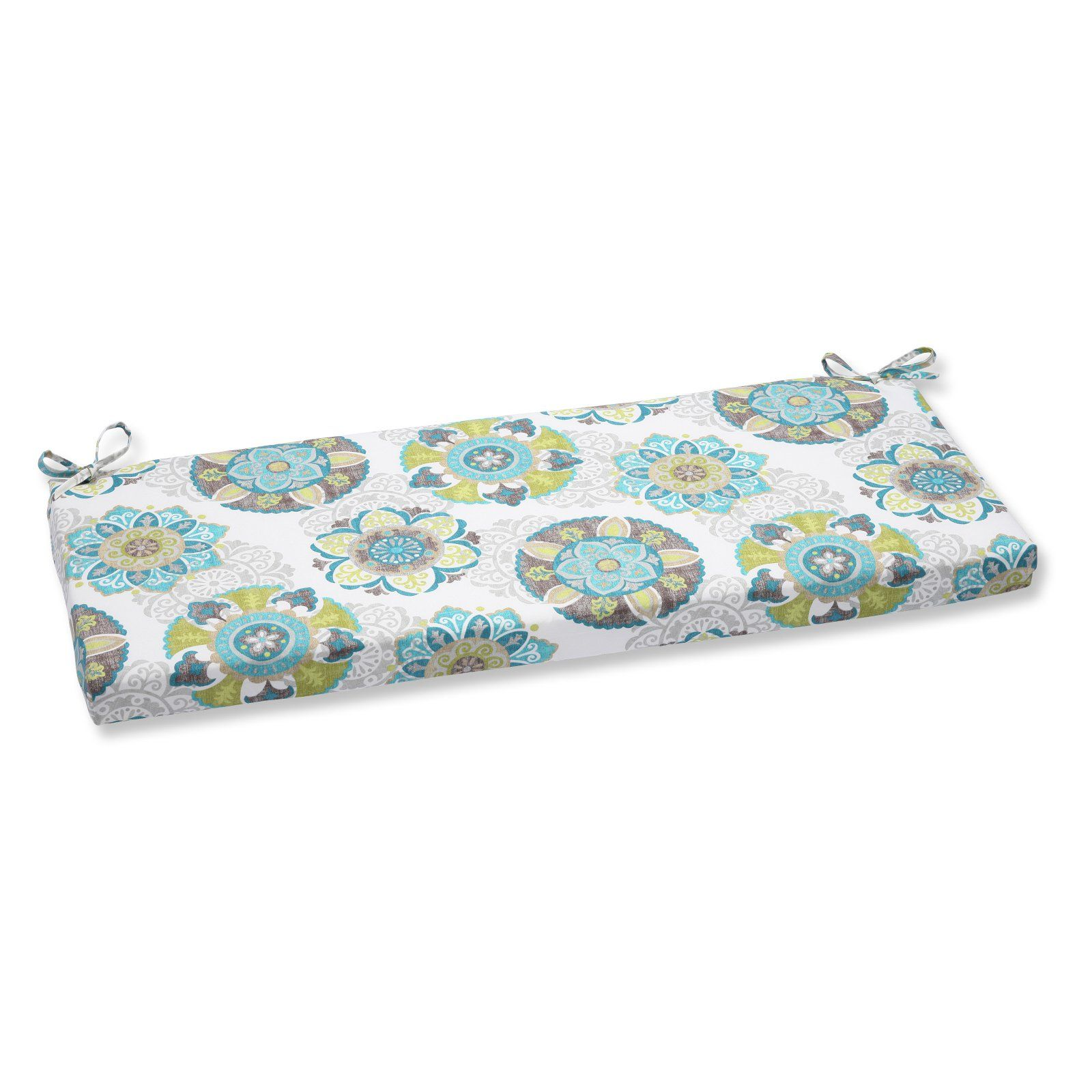 Pillow Perfect Allodala Oasis 45 X 18 In Bench Cushion With Images Patio Bench Cushions Perfect Pillow Bench Cushions